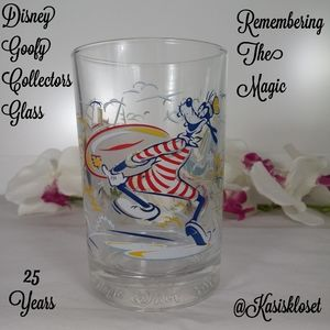 Disney Goofy Remembering The Magic Collector Glass